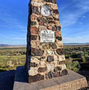 Simpson Springs Pony Express Station Monument - Utah Art Print
