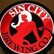 Sin City Brewing  Art Print