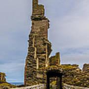 Sinclair Castle Scotland - 6 Art Print