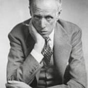 Sinclair Lewis, American Novelist Art Print
