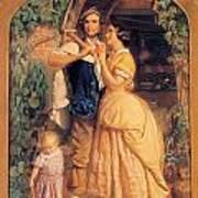 Sinews Old England Art Print