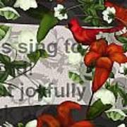 Sing Joyfully Art Print