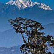 Singalila Ridge Sikkim Art Print