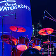 Singapore Drum Set 01 Print by Rick Piper Photography