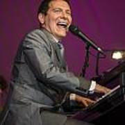Singer Michael Feinstein Performing With The Pasadena Pops. Art Print