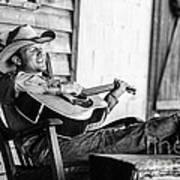 Singing Cowboy Art Print
