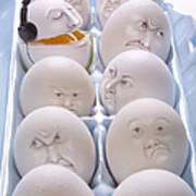 Singing Egg Art Print