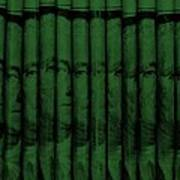 Singles In Dark Green Art Print