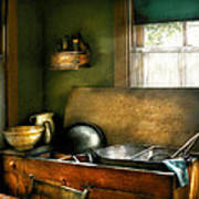 Sink - The Kitchen Sink Art Print