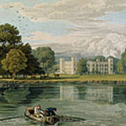 Sion House, Engraved By Robert Havell Art Print by William Havell