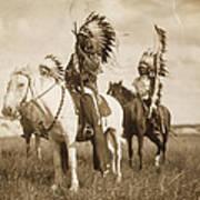 Sioux Chiefs  Art Print