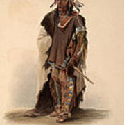 Sioux Warrior Art Print