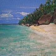 Siquijor Beach Art Print