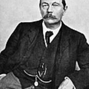 Sir Arthur Conan Doyle (1859-1930) Art Print