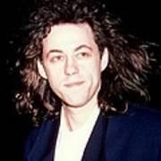 Sir Bob Geldorf 1989 Art Print