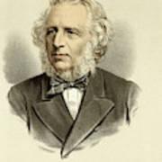 Sir Charles Reed  Educationalist Art Print