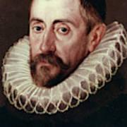 Sir Francis Walsingham (c1532-1590) Art Print