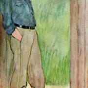 (sir) Godfrey Tearle  English Actor Art Print