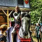 Sir Lancelot Du Lac Art Print