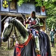 Sir Lancelot Du Lac - V2 Art Print