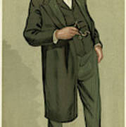 Sir Samuel Wilks  British Physician Art Print