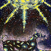 Sirius Listening Art Print by Dennis Goodbee