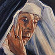 Sister Ann Art Print
