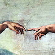 Sistine Chapel Art Print by SPL and Photo Researchers