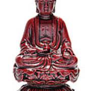 Sitting Buddha  Print by Olivier Le Queinec