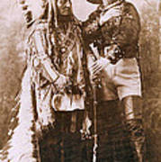 Sitting Bull And Buffalo Bill Art Print