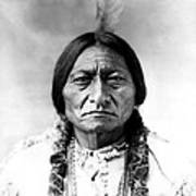 Sitting Bull Art Print by Bill Cannon