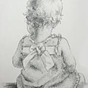Sitting Pretty Art Print by Kelley Smith