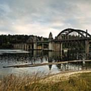 Siuslaw River Bridge Art Print