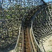 Six Flags America - Roar Roller Coaster - 12125 Art Print