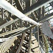 Six Flags America - Roar Roller Coaster - 12127 Art Print