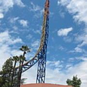 Six Flags Magic Mountain - 12125 Art Print