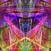 Sixth Sense Ap130511-22-20130616 Square Art Print by Wingsdomain Art and Photography