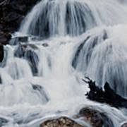 Skalkaho Waterfall Art Print