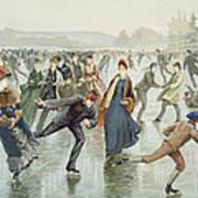 Skating Art Print