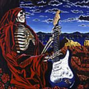 Skeleton Dream Art Print by Gary Kroman