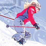 Ski 1 Art Print