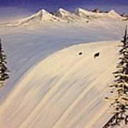Ski Trip Art Print