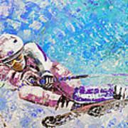 Skiing 06 Art Print