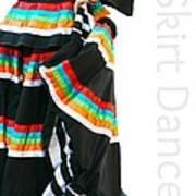 Skirt Dance Art Print