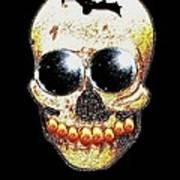 Skull Art In A Surrealism Definition Art Print