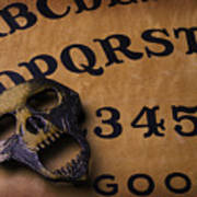 Skull Planchette Art Print