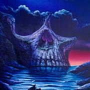 Skull Point Art Print