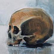 Skull Torso Art Print