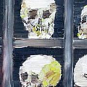 Skulls In The Crypt Art Print
