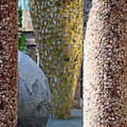 Skulpture Park Art Print